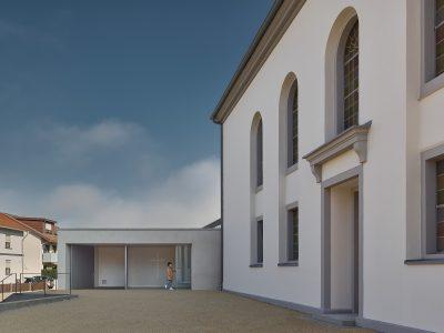Gemeindehaus und Christuskirche Kehl